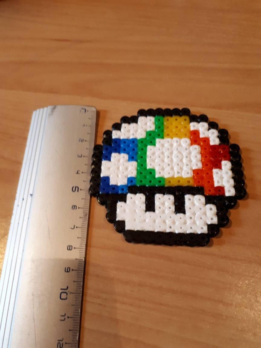 Dessin Pixel Art Champignon Mario