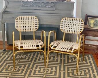 Vintage Brown Jordan Patio Chairs, Retro Patio Chairs, Midcentury Chairs,  MCM Patio Chairs, Retro Patio Chairs, Vintage Decor, MCM Decor