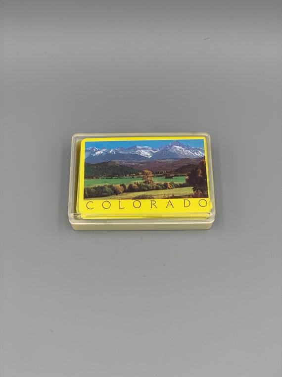 Colorado Souvenir Playing Cards
