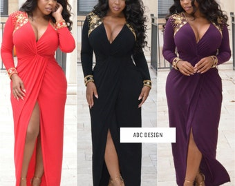 Louisa wrap dress ( please choose the color from display pic )