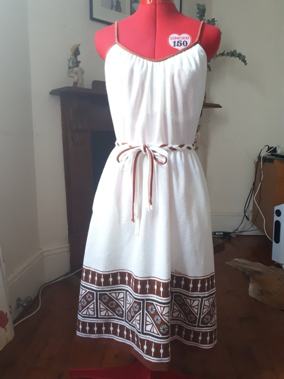 1960s Shaheen Dress with Original Belt