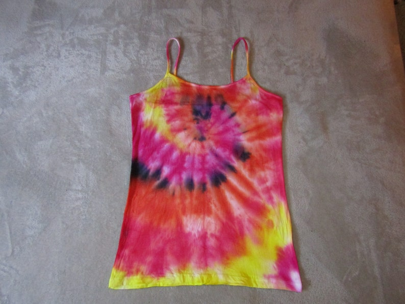 63b109d0d88fb Red, Orange, Yellow, and Blue Spiral Tie Dye