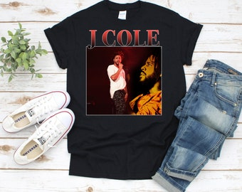 d0409aa287 J Cole Profile T-Shirt