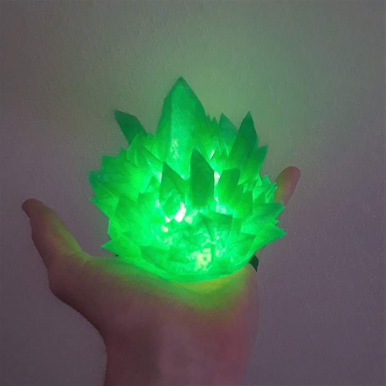Floating LED Magic Spell Cosplay Comiccon Ice Halloween Wrist Mounted Light up LED Wearable Fire Electricity /& Elements for Costume