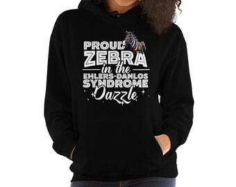 Ehlers Danlos Shirt/EDS/Ehlers Danlos Syndrome Shirt/Ehlers Danlos/Ehlers Danlos Gift/Ehlers Danlos Shirt/Ehlers Danlos Zebra/EDS Awareness