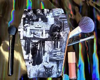 Coffin Shaped Make up bag
