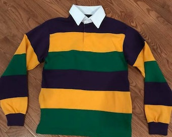 2cadc006 Mardi Gras Rugby L/S Polo