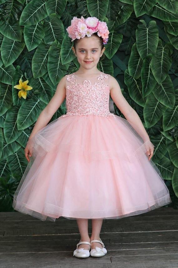 Flower Girl DressVestidos para Nina D-756