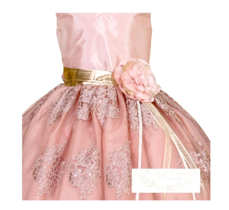 024 Flower Girls DressVestido de Ni\u00f1a