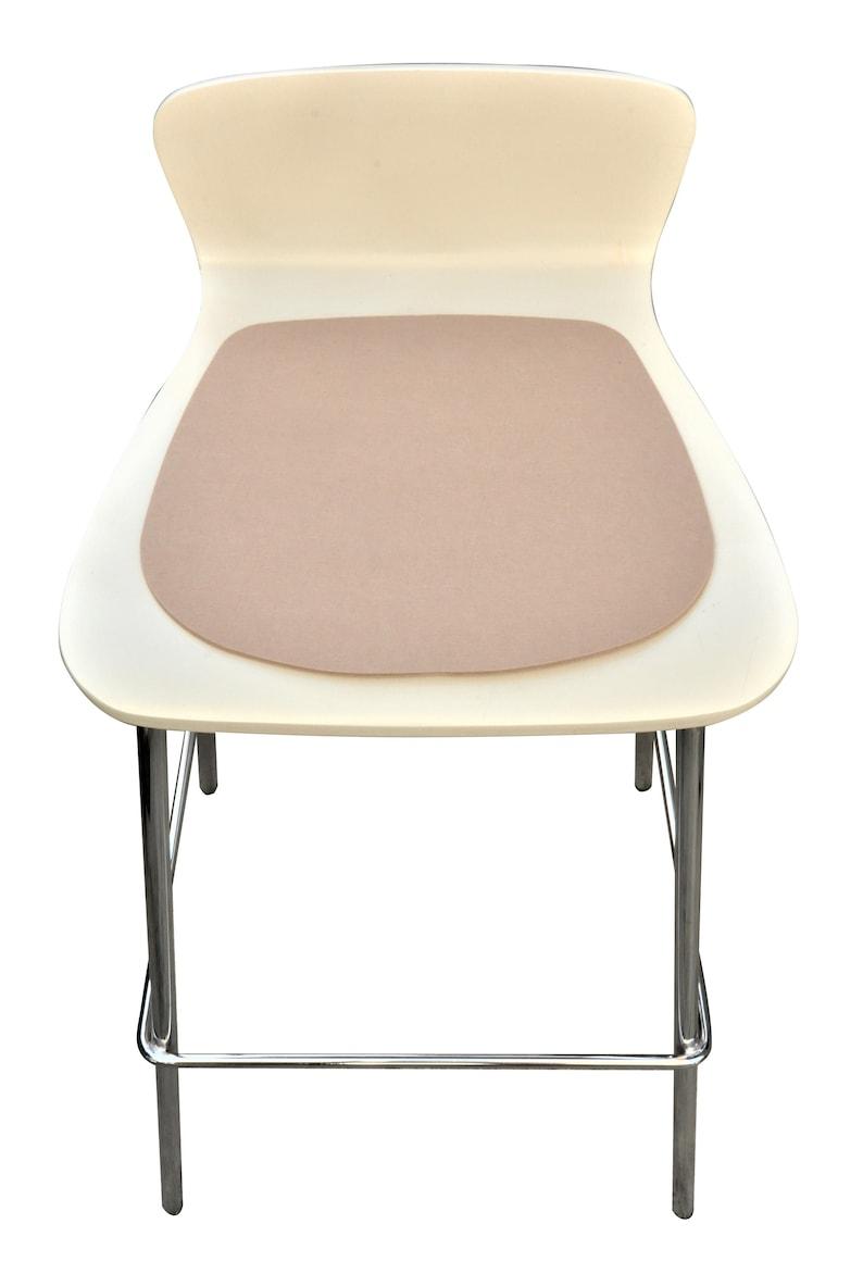 Eames Side Chair seat cushions multi pack 4pcs felt seat xDMSP59o