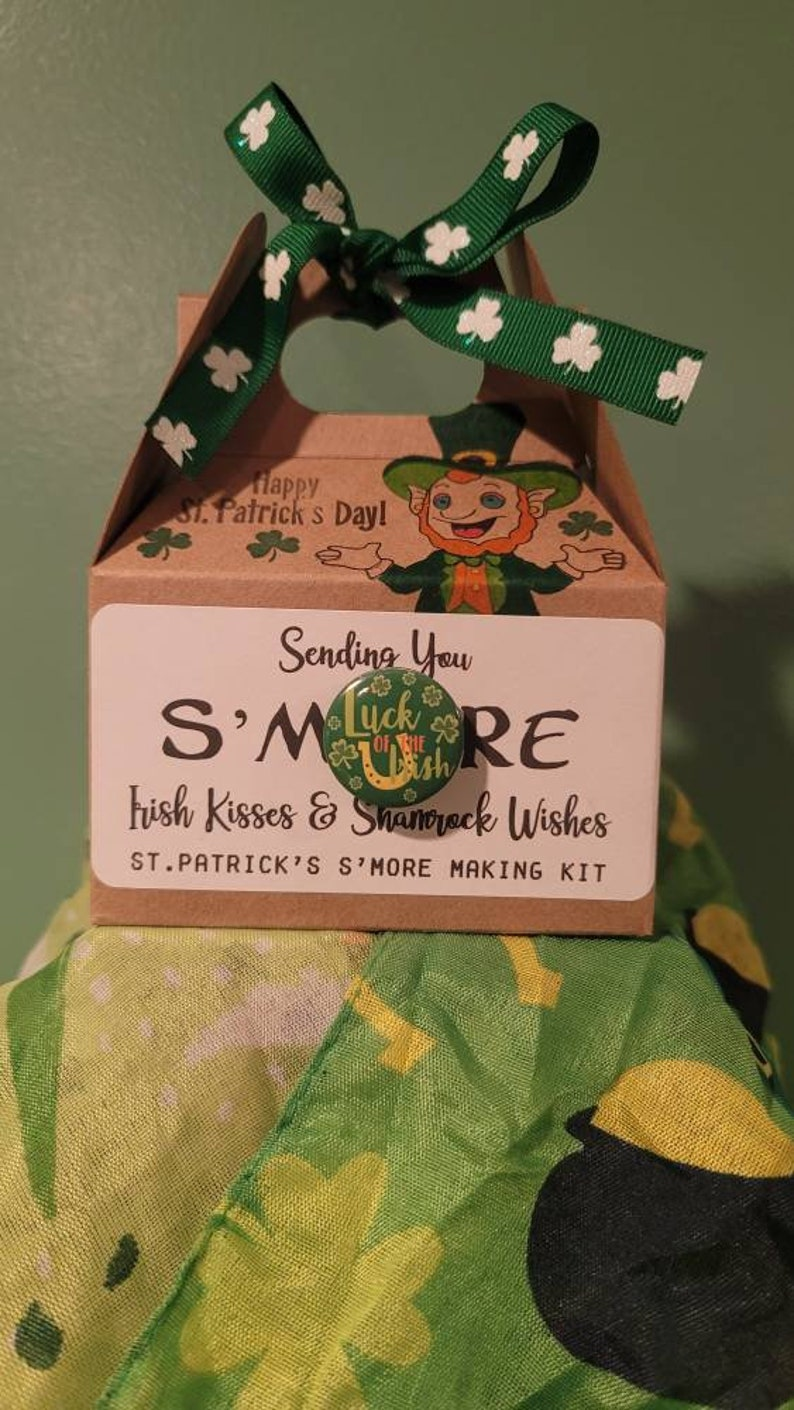 St Patrick/'s Day S/'mores Kits or Custom For Any Holiday or Event