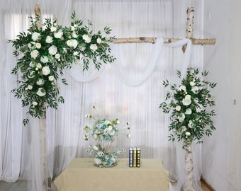 Wedding Arch Flower Etsy