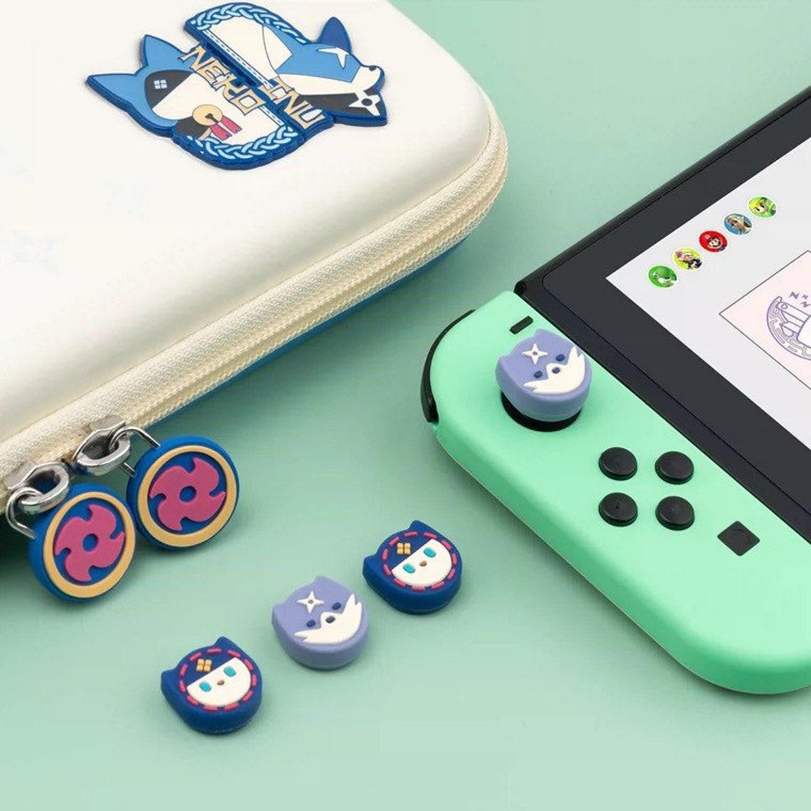Monster Hunter Rise Palico Palamute Joystick Caps for Nintendo image 0