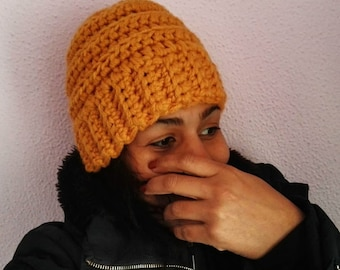gorro de lana a crochet 772d216af6c