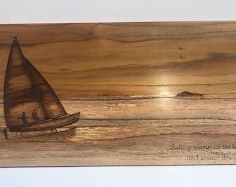 Custom Order: Wooden painting (art)