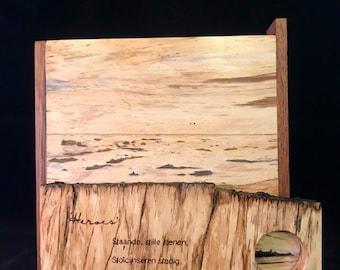 "Art: ""Heroes"", wooden painting"
