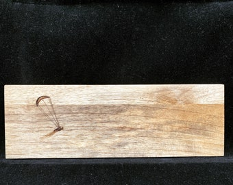 Kitesurfing, wood, art