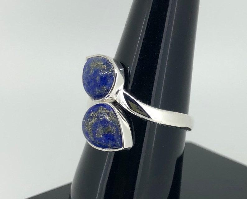 Lapis Lazuli Sterling Silver Handmade Ring