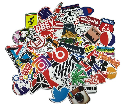 Poker Street 3 Pack of Vinyl Decal Stickers for Laptop Car