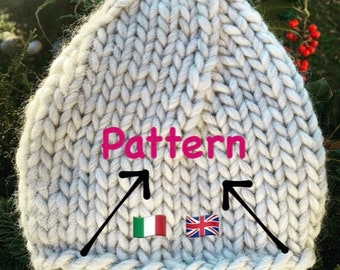 Stor beanie Pattern by Ritywool