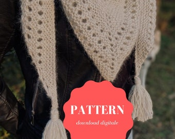 Pattern scialle Neve by Ritywool