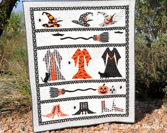 Ms. Winifred's Closet Halloween Quilt
