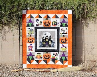 Hagatha's House Halloween Quilt