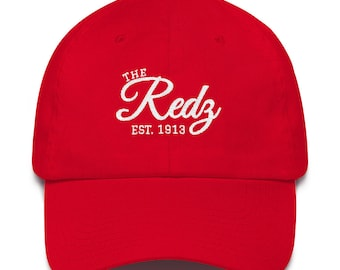 6e12df2841e The Redz 1913 Front Embroidered Dad Hat Delta Sigma Theta