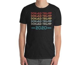 Donald Trump 2020 Retro Colored Shirt  6d649969e