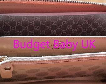 Designer ispirato Gucci laminato portafoglio contanti buste USD 415444aafd9