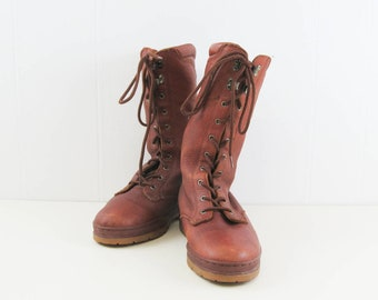 b62adc86f Bally Trailblazer boots US mens 8.5 leather boots