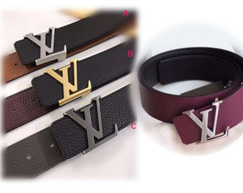 5a81e1d30c7 40mm Top layer Calf-leather mini square belt fashion leather man s  Reversible belt suppliers