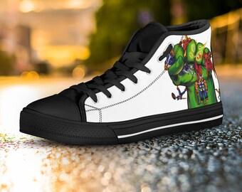 c7e48c7339a8 Hulk Hi Tops Custom Shoes