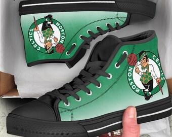 d6383da3f09 Boston Celtics NBA Custom Shoes