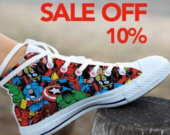 f690cebb5202 Marvel Avengers End Game Custom Shoes