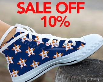 26e98918525 Houston Astros Logo Custom Sneakers