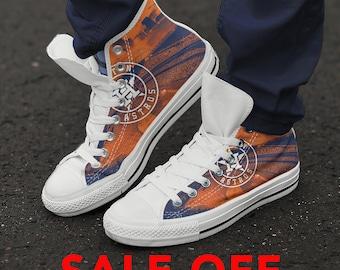 dcdd83ef7f5 Houston Astros Canvas Shoes
