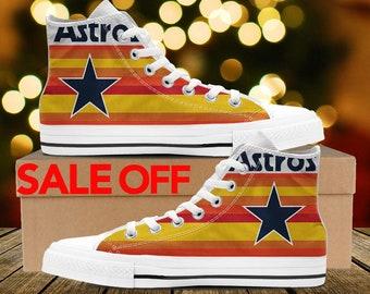 249a91c9a88 Houston Astros Custom Sneakers