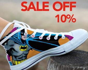 7ed3646ec282 Batman Custom Shoes