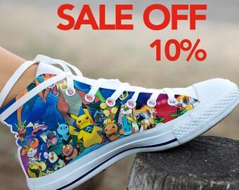 7d8fe832c5 Pokemon Custom Shoes