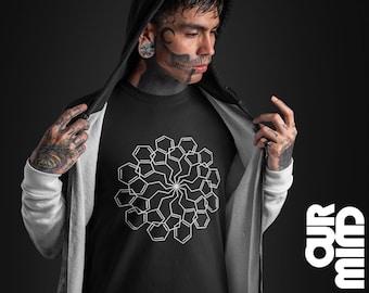 DMT MOLECULE T Shirt - Minimal, Mandala, Geometric, Psychedelic, Men Women, Ayahuasca, Drugs, Stoner, Mushroom, Smoking, Vape, LSD Gift boy