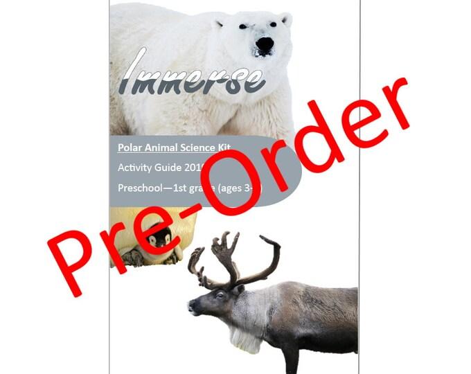 Polar Animal Science Kit, STEM, Hands on crafts for kids, sensory play