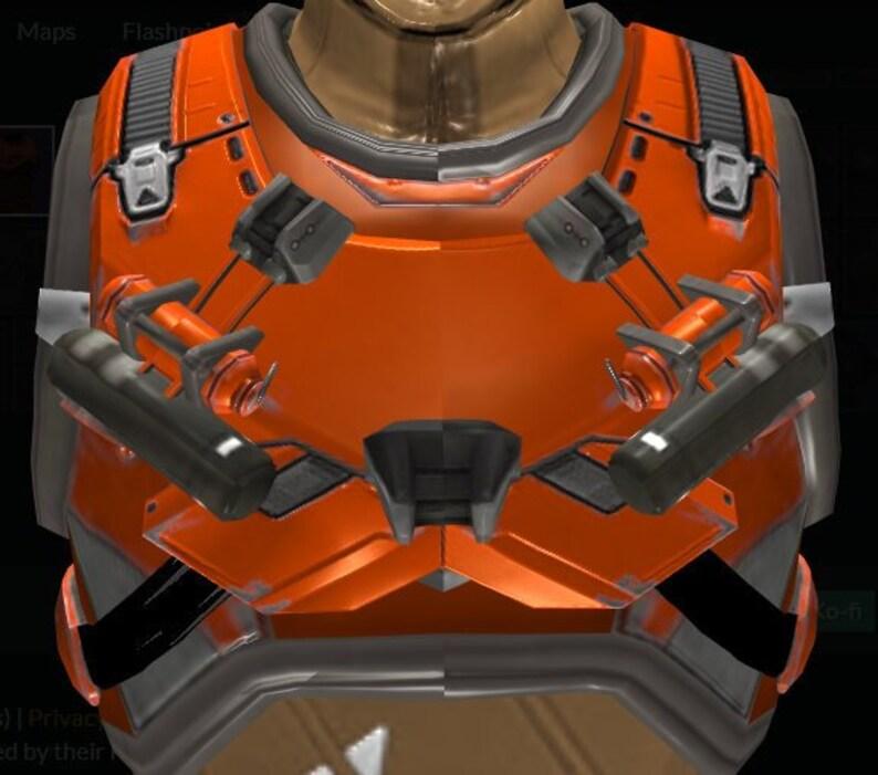 Destiny Ghost Angel / H_LD Starwinder Hunter Chest Armor