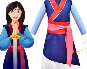 Mulan Costume Etsy