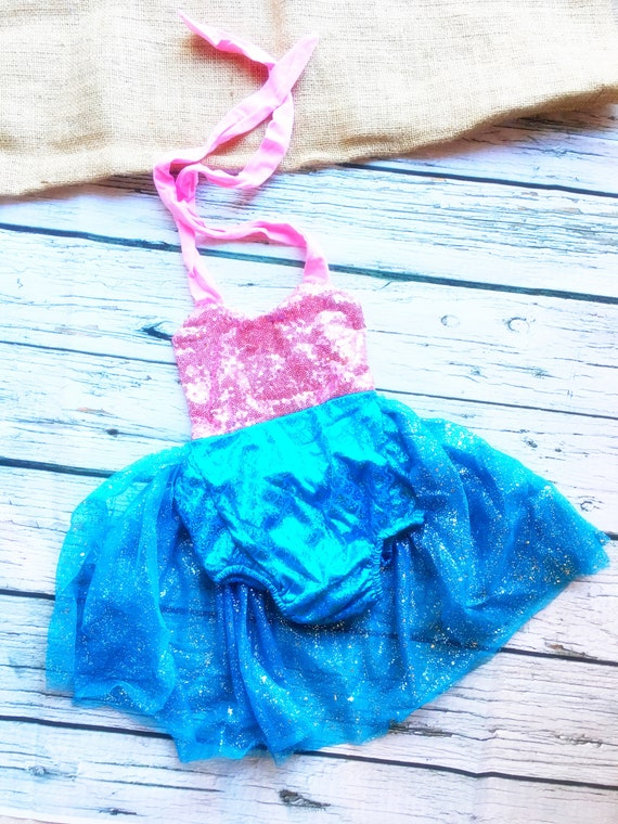 Outfit 3 6 9 Months Infant Girl Disney Little Mermaid