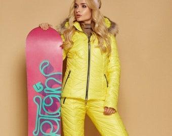 b2b8b1d7c36 Women Ski suit Ski overall Ski jumpsuit Ski Winter suit Snowboarding suit  Winter jacket Winter warm pants Winter suit Ski jumpsuit