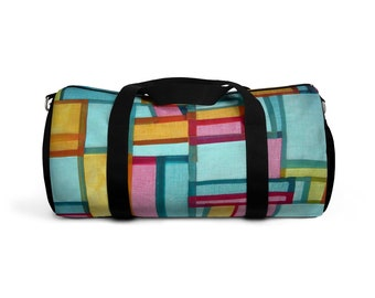 Super Fun   Trendy Colorful Duffel Bag a0e1e006bc28f