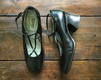 d39a364266eb9 Vintage Bandolino black Mary Jane shoes Casanova Mary Janes | Etsy