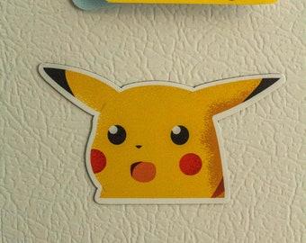 Pikachu Pokemon Card Refrigerator Magnet 2x3