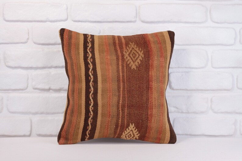 Sequin Pillow Floor Pillow Boho Pillow Kilim Pillows image 0
